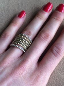 Ringe aus Silber und Messing