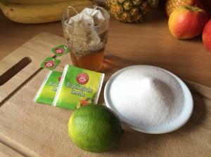 Zutaten Limettensirup