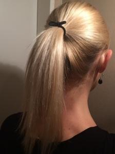 Haargummi Schleife Zopf