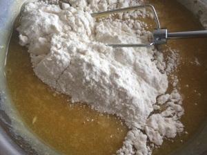 Weiße Schokolade Soufflé