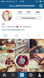 Instagram Lilli Missheartmade