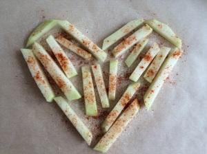 Kohlrabi nocarb Pommes