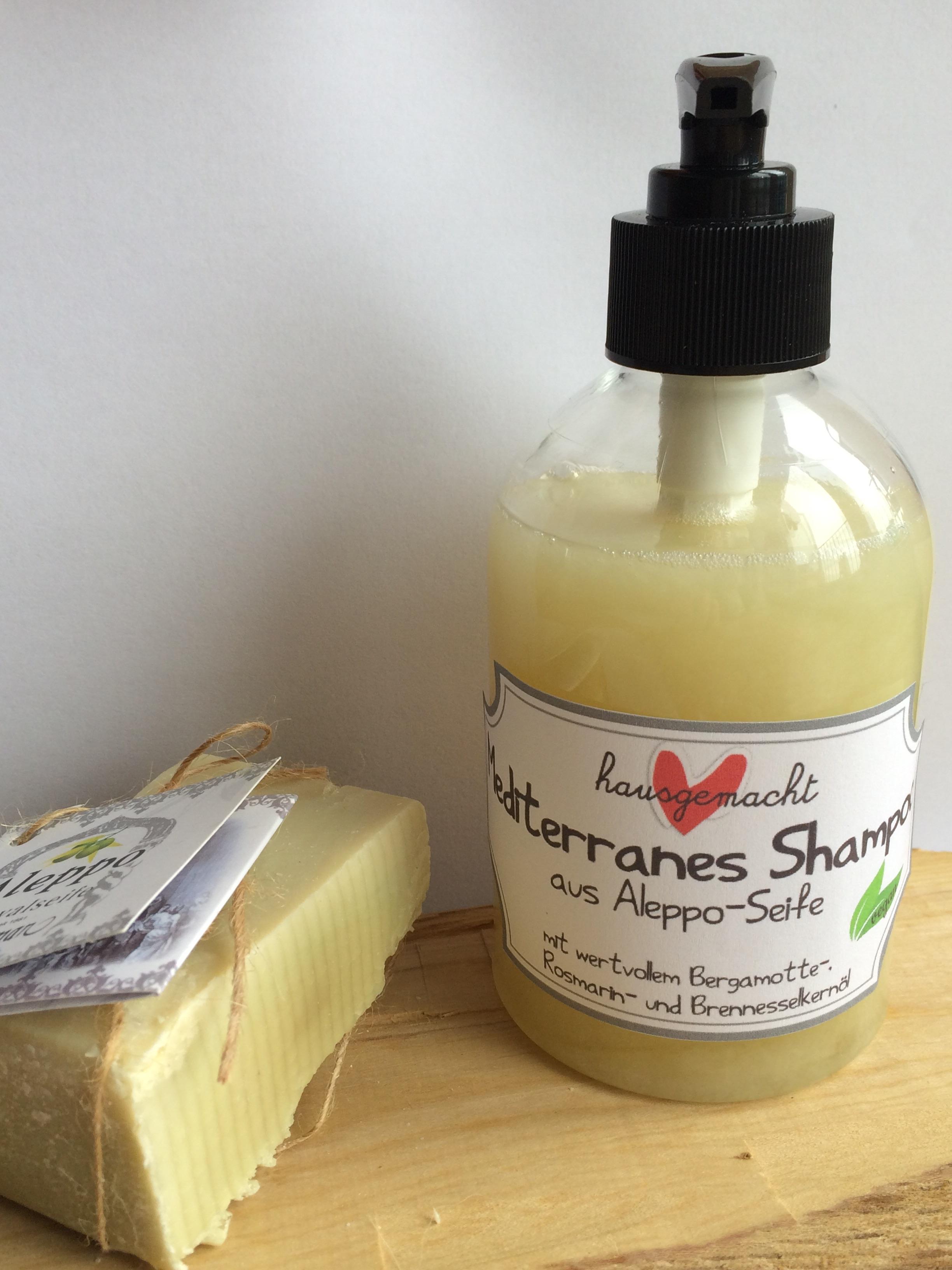 veganes shampoo aus aleppo seife miss made. Black Bedroom Furniture Sets. Home Design Ideas