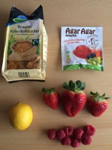 Zutaten vegane Fruchtgummis