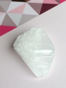 Kristall selber züchten aus Alaun Salz