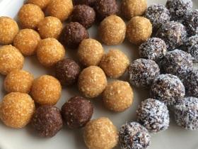 gesunde Pralinen Snacks