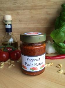 veganes hausgemachtes pesto rossa