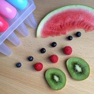 Popsicles Zutaten gesundes Eis clean
