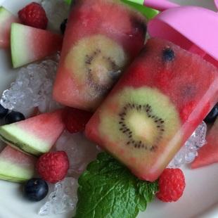 Eistrend kalorienarm lecker Früchte