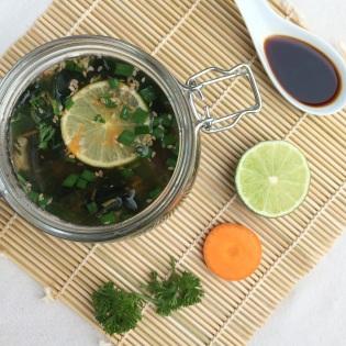 frische Suppe selbstgemacht gesund kalorienarm