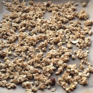 Granola selbst gemacht vegan zuckerfrei