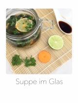 Suppe im Glas