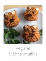 Vegane Möhrenmuffins
