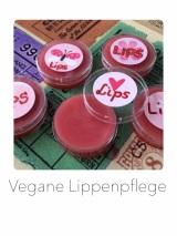 Vegane Lippenpflege