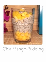 Chia Mango Pudding