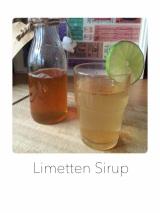 Limetten Sirup
