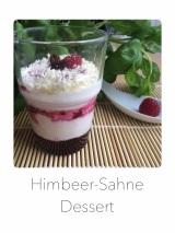 Himbeer-Sahne Dessert