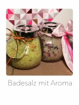 Badesalz mit Aroma