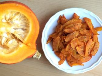 Chips Hokkaido Kürbis vegan gesund