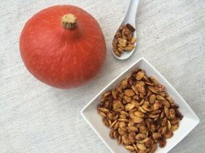 Geröstete Kürbiskerne Hokkaido Snack vegan