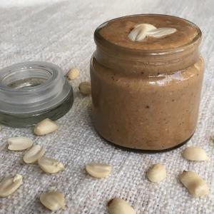 Erdnussbutter zuckerfrei gesund vegan clean