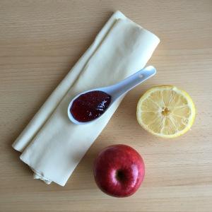 Apfelrosen Törtchen Muffins Zutaten